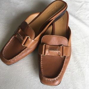 Cole Haan Women's Size 8B Tan Leather Mules